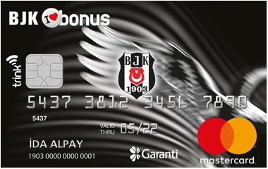 Garanti BJK Bonus Kart