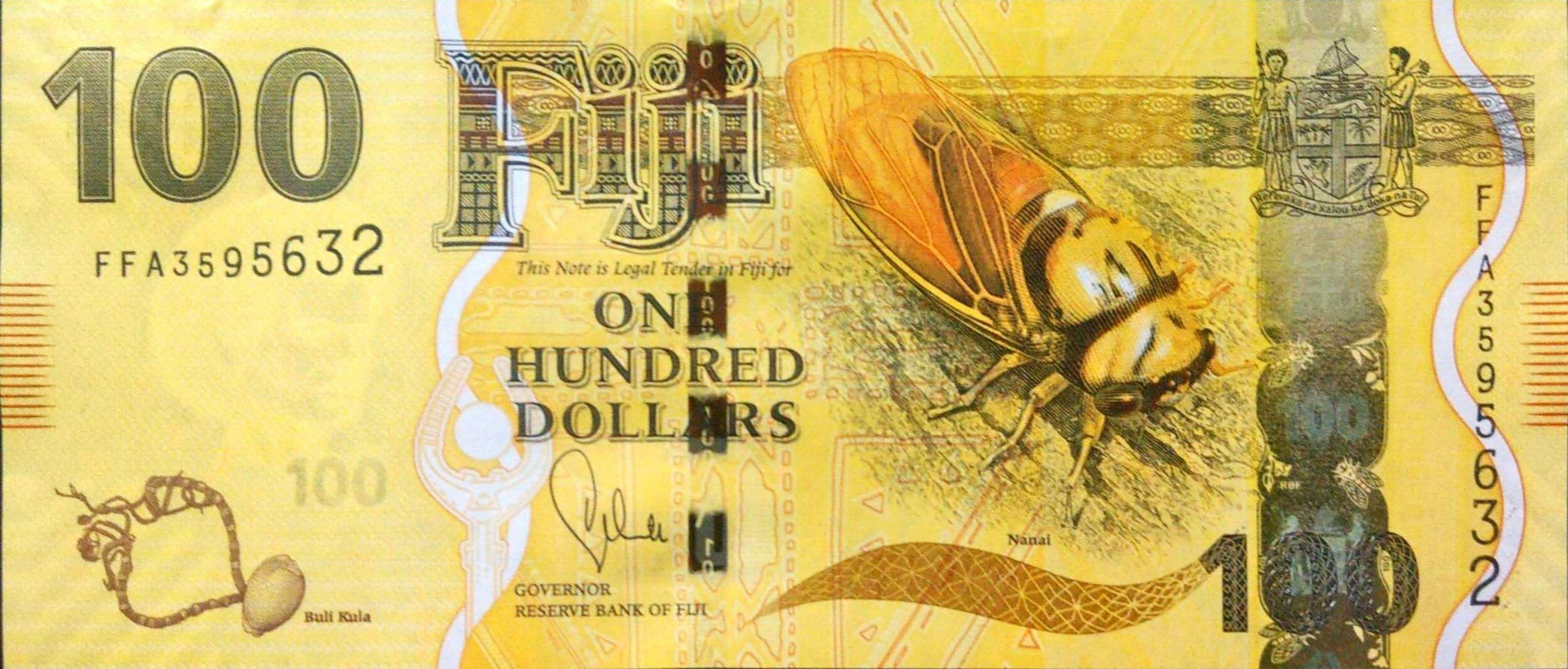100 Fiji Doları